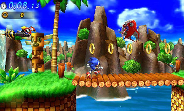 review sonic generations 3ds