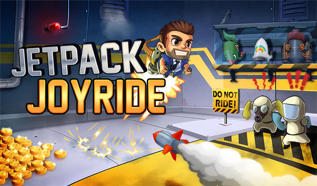 OMG: Jetpack Joyride free on iOS devices right now! screenshot