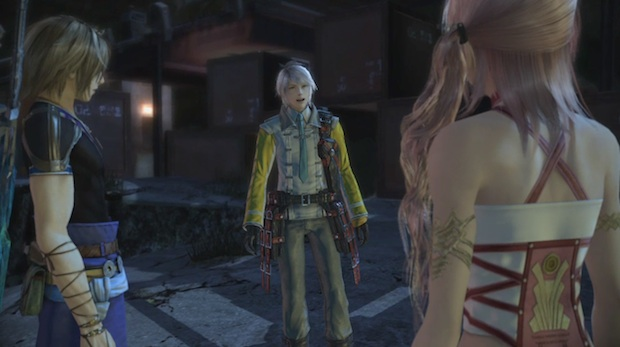 See all the characters of Final Fantasy XIII-2 screenshot