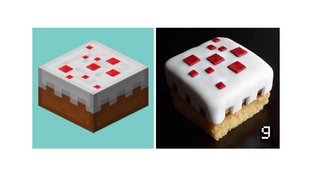 Website Gourmet Gaming makes game foods real screenshot