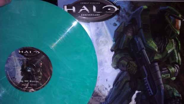 Here's what the green vinyl of the Halo OST looks like