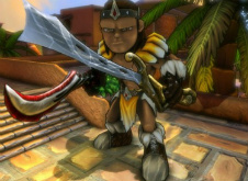 Loincloths and dual wielding in Dungeon Defenders photo