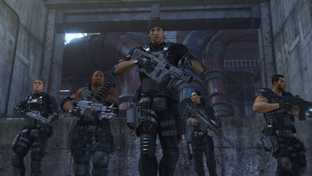 Meet the heroes of Binary Domain, The Rust Crew photo
