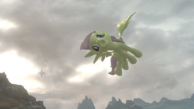 Skyrim mod changes dragons to My Little Ponies