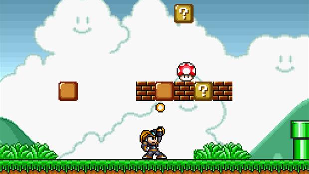 Super Mario Crossover version 2 0 finally available