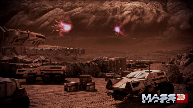 Preview Shepard Amp Company Visit Mars In Mass Effect 3