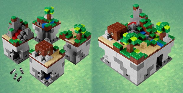 LEGO Minecraft set coming this summer, first pics are in screenshot
