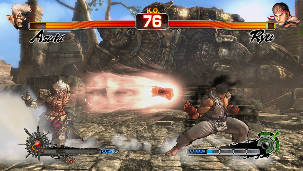 Street Fighter's Ryu coming to Asura's Wrath as DLC screenshot