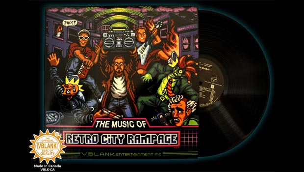 Retro City Rampage OST now on Bandcamp and limited vinyl
