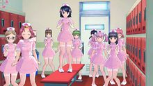 Dress ladies up after you shoot them in Gal Gun PS3 photo