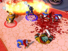 Preview: Dungeonland has cute art and delicious violence photo