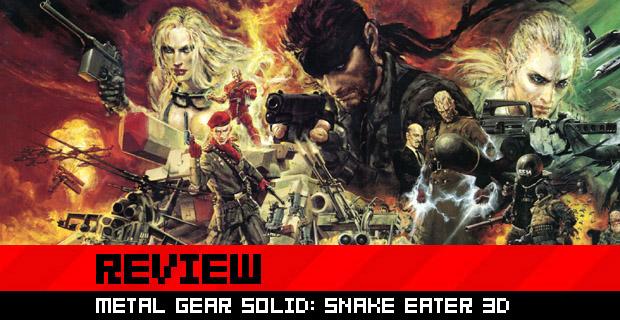 Review: Metal Gear Solid: Snake Eater 3D screenshot