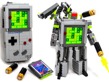 LEGO Game Boy Transformer!? F**kin' A! photo