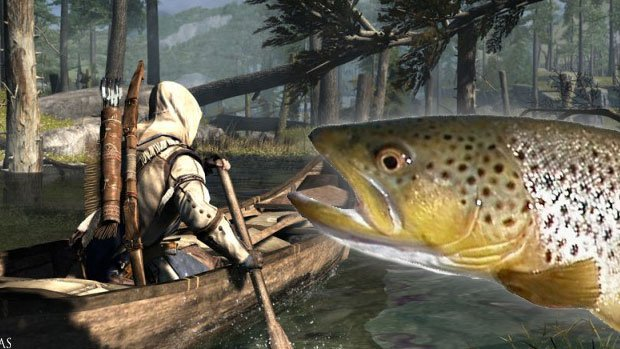 DTOID Interview: There are NO fish in Assassin's Creed 3 screenshot