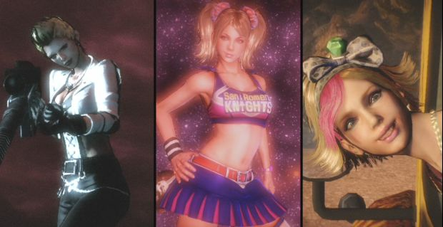 Meet the happy zombie-hunting family of Lollipop Chainsaw photo