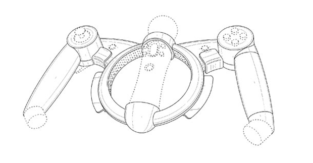 Sony's new controller patent is um, interesting photo