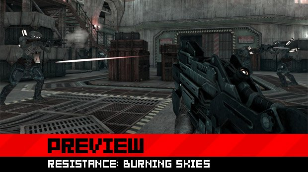 Resistance: Burning Skies is ready to set the Vita ablaze photo