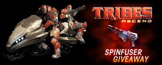 Here's 10,000 codes for the Spinfusor in Tribes: Ascend photo