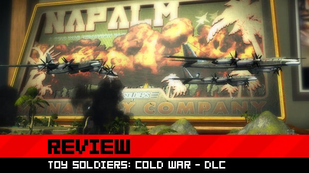 Review: Toy Soldiers: Cold War - Evil Empire & Napalm DLC photo
