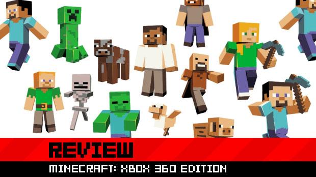 Review: Minecraft: Xbox 360 Edition screenshot