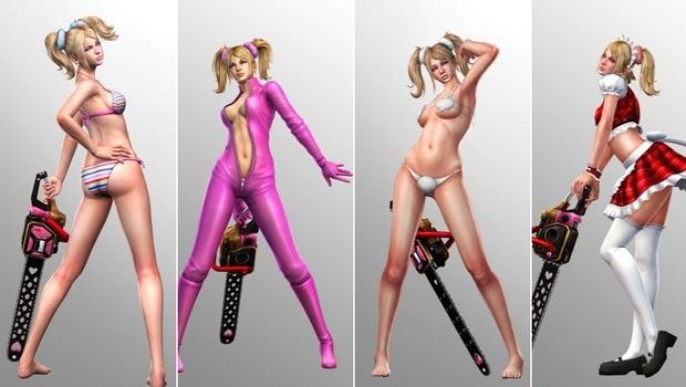 Juliet s extra costumes unlockable in Lollipop Chainsaw