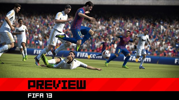 Preview: Making FIFA 13 'predictably unpredictable' screenshot