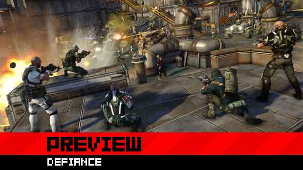 Trion's Defiance is one part videogame, one part TV show screenshot