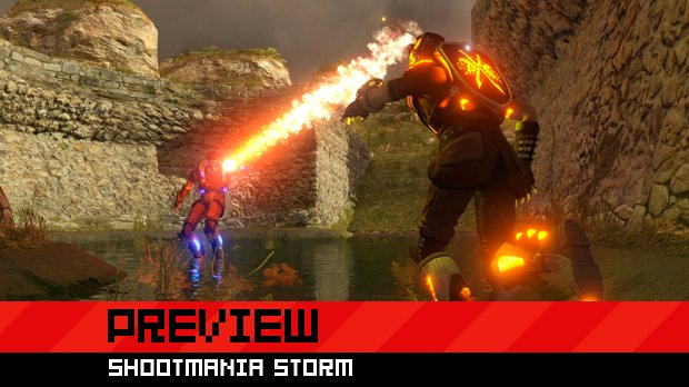 Hands-on preview: ShootMania Storm is my kind of FPS screenshot