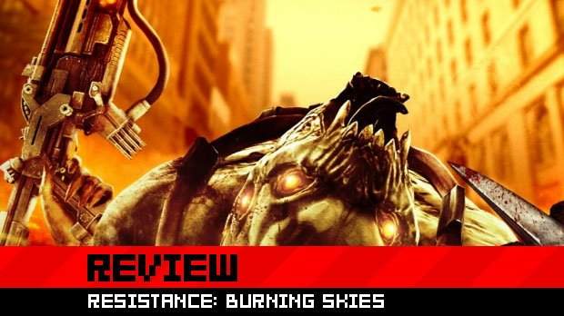 Review: Resistance: Burning Skies photo