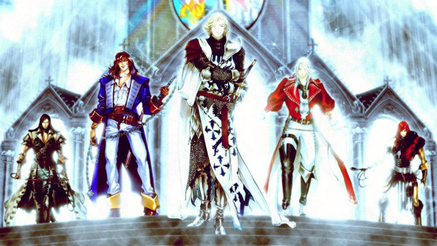 Castlevania: Mirror of Fate is a Belmont family reunion photo