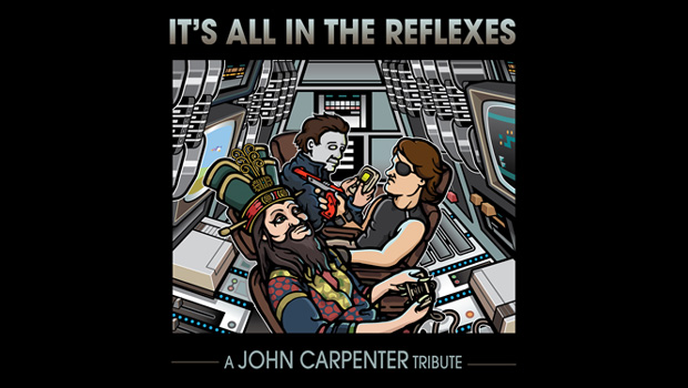 A chiptune tribute to John Carpenter's synth movie scores photo