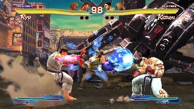 E3 Street Fighter X Tekken Ps3 Vita Crossplay Is Nice