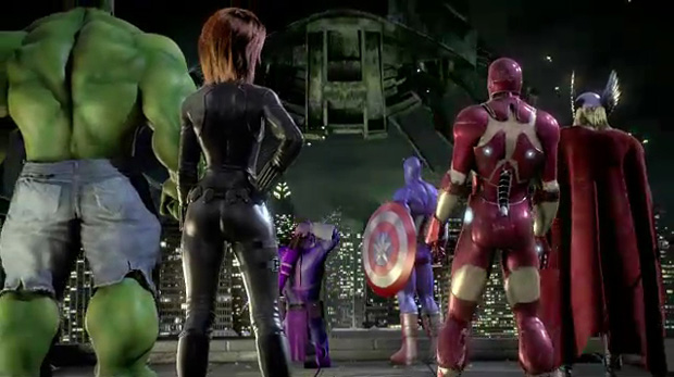 E3 ubisoft adds spider man wolverine to avengers game