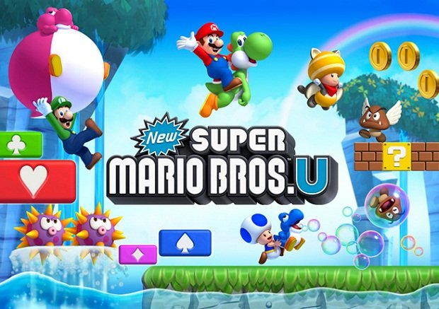 E3: Hands-on with New Super Mario Bros. U photo