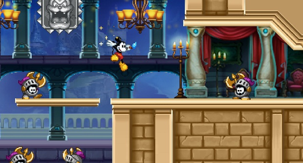 E3: Hands-on with Epic Mickey: Power of Illusion photo
