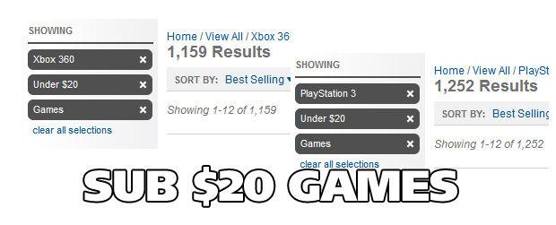 Cheap games
