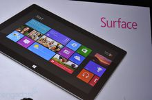 Microsoft reveals the new Microsoft Surface, a tablet photo