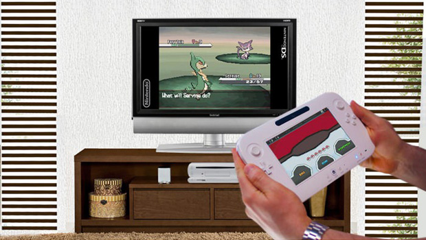 Wii U Nintendo Ds : Ponder this fan mock up of a ds to wii u adapter