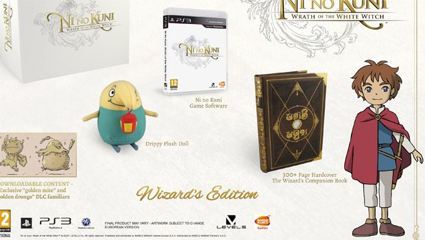 Namco Bandai announces Ni no Kuni special edition screenshot