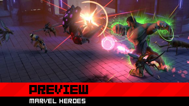 Preview: Playing superhero in Marvel Heroes photo