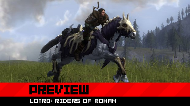 Hands-on with mounted combat in LOTRO: Riders of Rohan photo