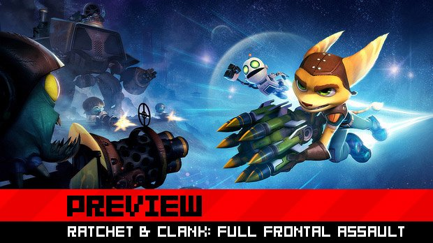 Preview: Ratchet & Clank: Full Frontal Assault  photo