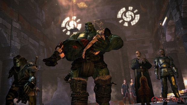 Gander at Arkail and Styx from Of Orcs and Men screenshot