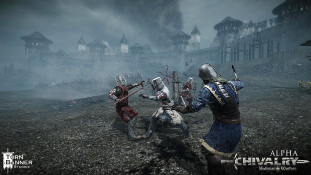 Butcher peasants and burn down their villages in Chivalry screenshot