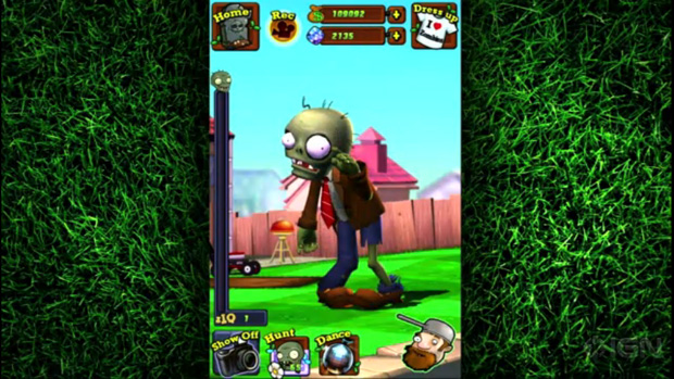 Talking Zombatar is a free Plants vs. Zombie virtual pet photo