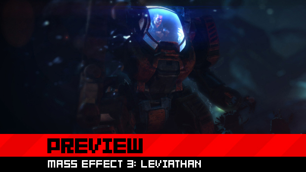 Preview: Getting wet with Mass Effect 3: Leviathan  photo
