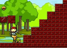 Maxwell suits up Mario-style in Scribblenauts Unlimited photo