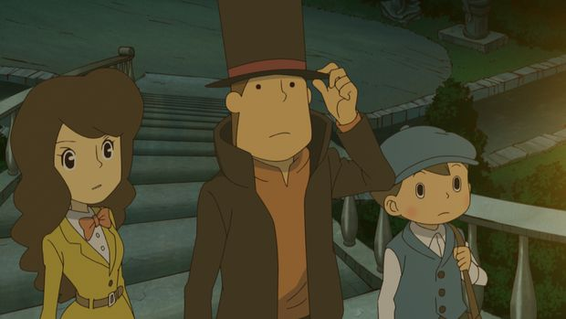 professor layton mask