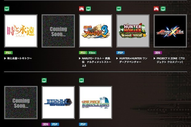 Wii U Games Line Up : Could namco bandai have a wii u game lined up for tgs