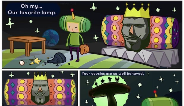 Exclusive: ShiftyLook to launch Katamari webcomic photo